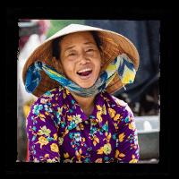 sourire femme vietnamienne