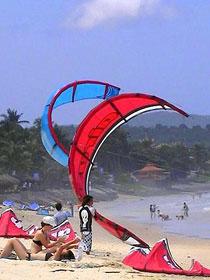 Kite surf au Vietnam.