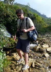 Randonnée au Vietnam.