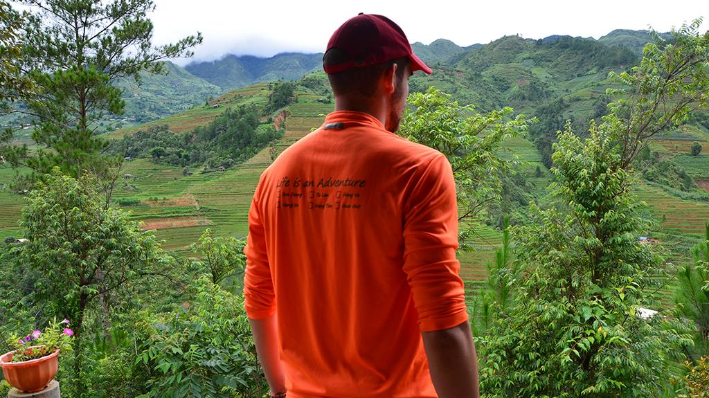 Dans les Montagnes du Nord au Vietnam