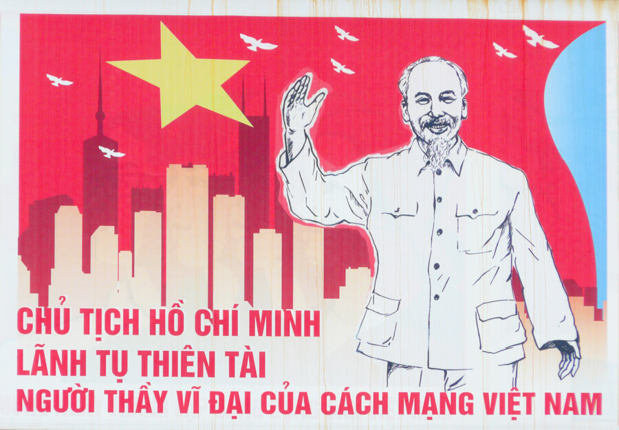Ho Chi Minh propagande.