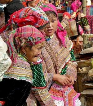 Femmes vietnamiennes.