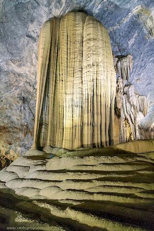 Grotte au Vietnam.