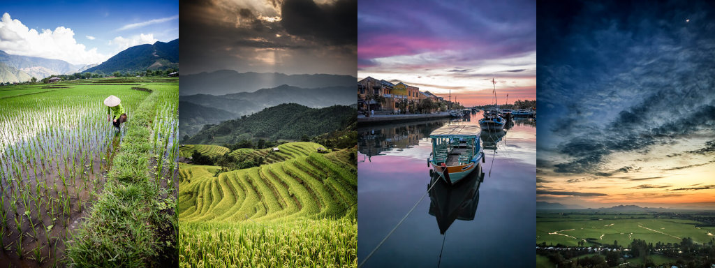 Les différents climats au Vietnam.