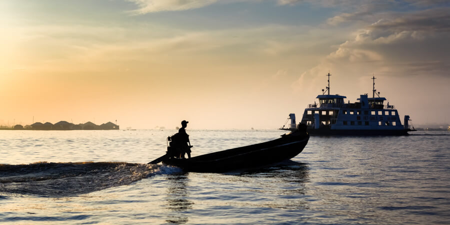 barque pêcheur ferry.