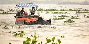 Voyagez dans le delta du Mékong