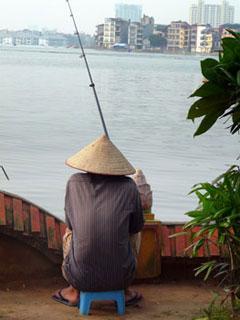 pêcheur hanoi.