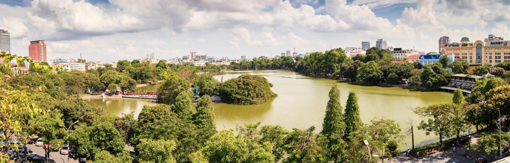 Hanoï, la capitale du Vietnam.
