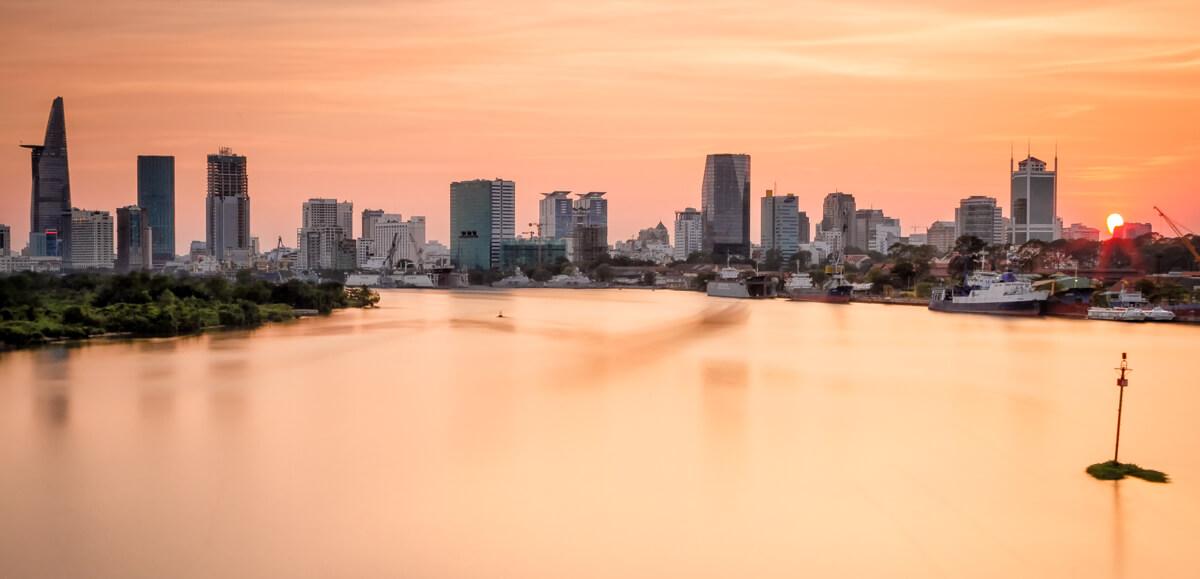 Ho Chi Minh City au Vietnam.