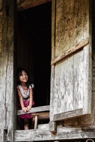 vietnam enfant village Dao.