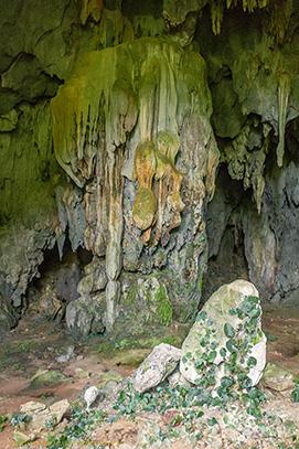 stalactites.