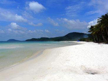 plage sable blanc.