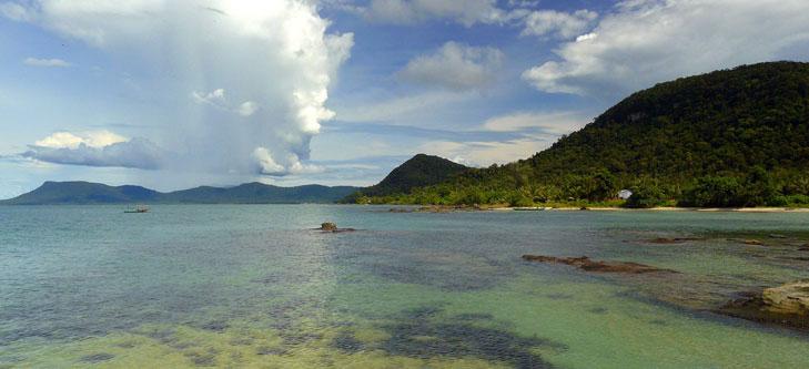 L'île de Phu Quoc au Vietnam.