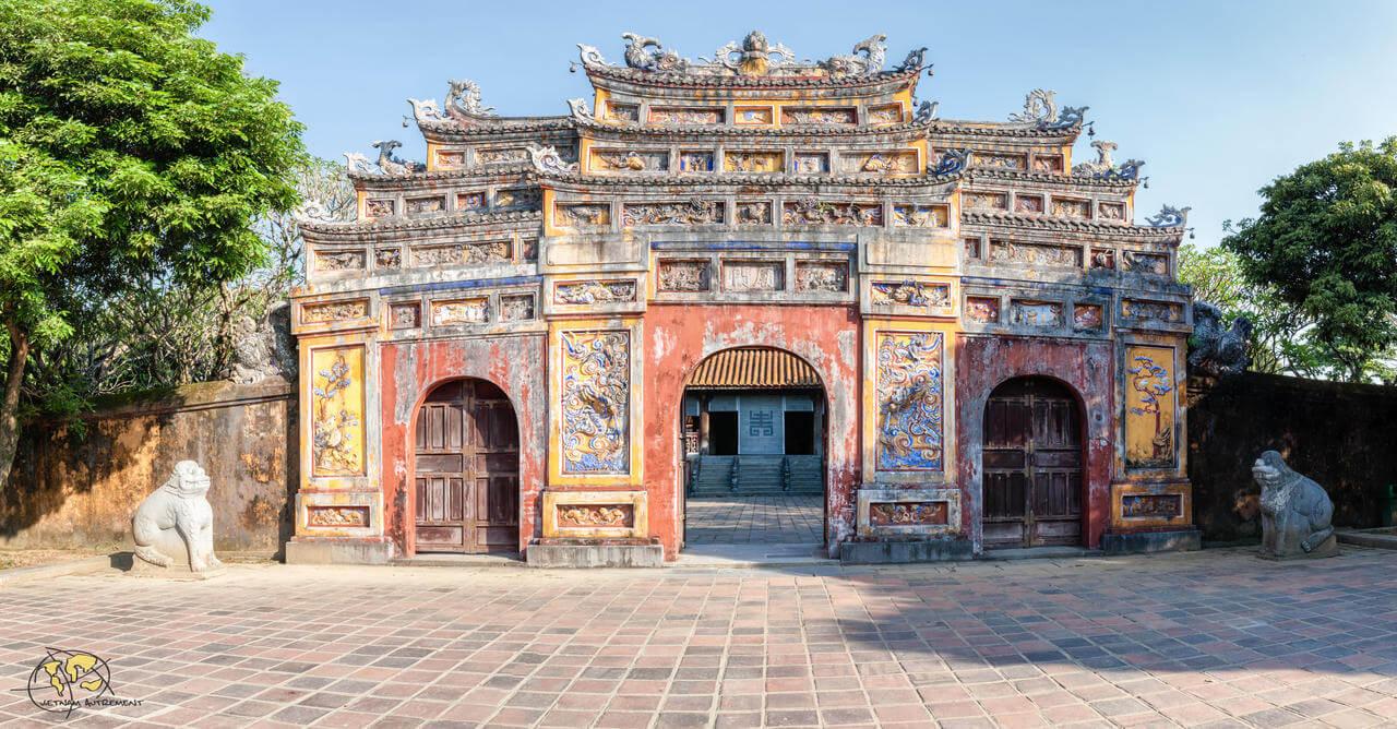 Cités historiques au Vietnam.