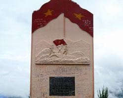 Vietnam monument dien bien phu.