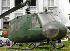 Vietnam guerre helicopter.