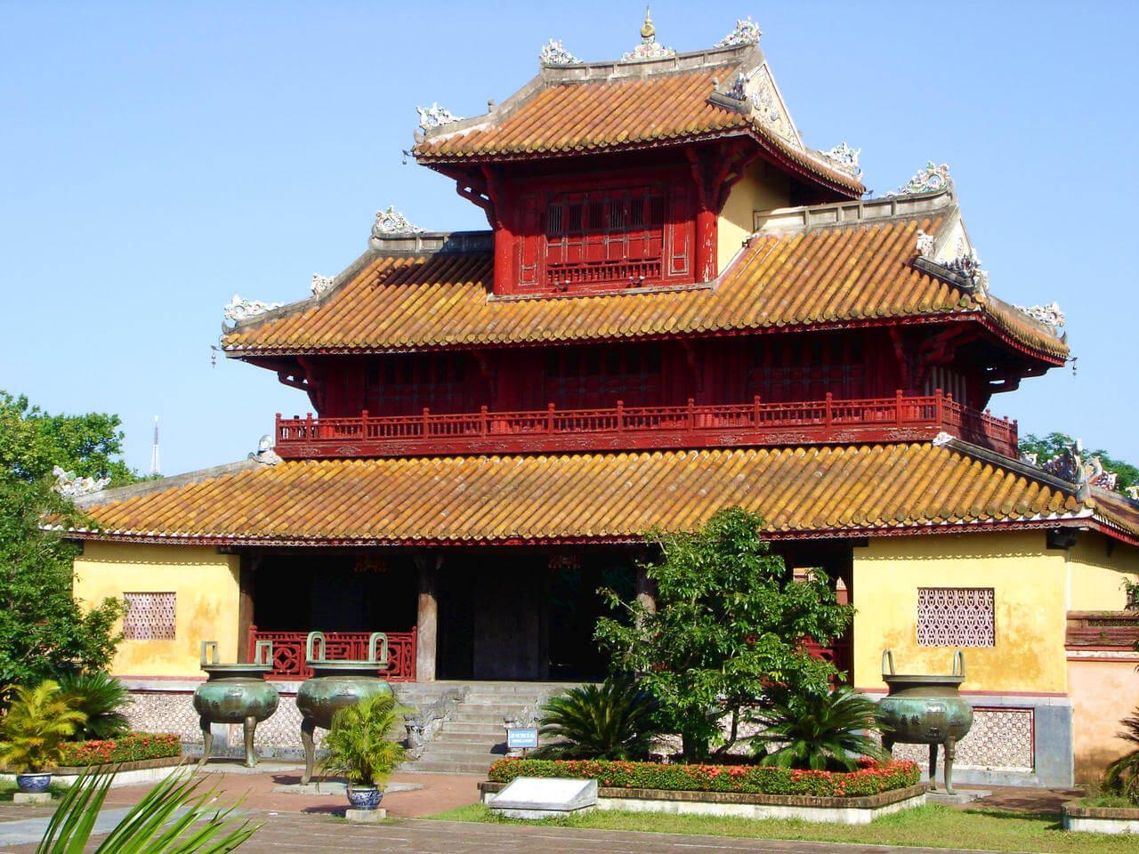 Vietnam temple.