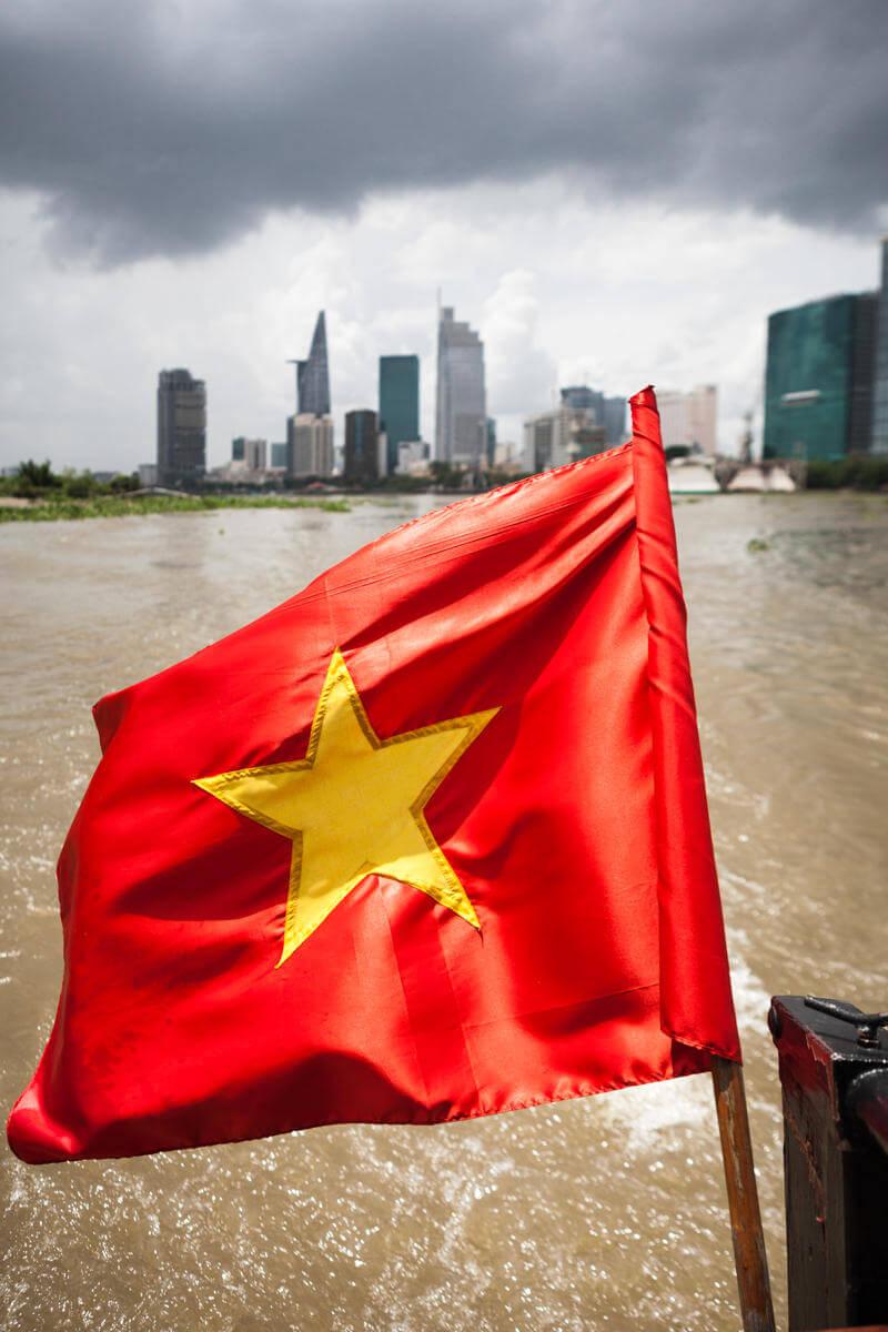 drapeau vietnamien.