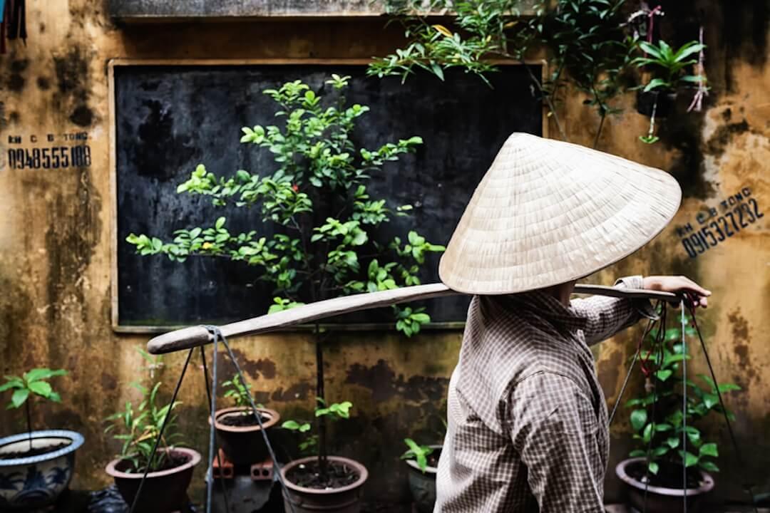 Photo d'un homme Vietnamien
