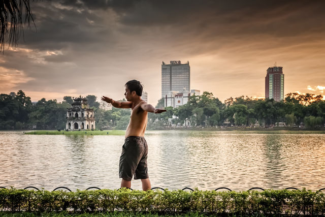 Hanoi capitale du Vietnam.