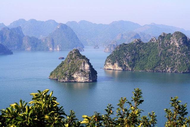 Baie d'Halong au Vietnam.