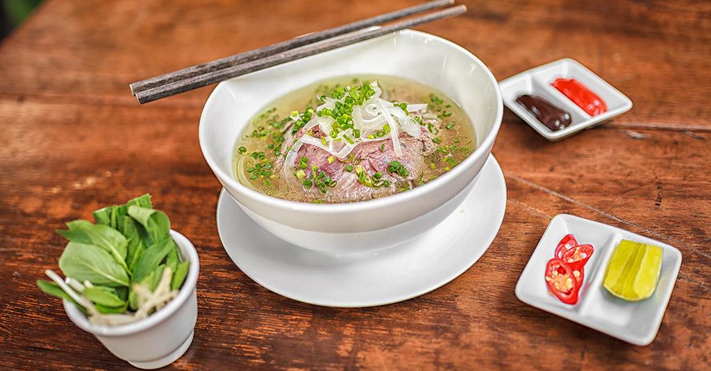 Le pho, plat Vietnamien.