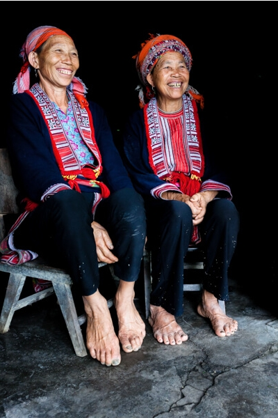 Femmes vietnamiènes.