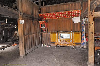 intérieur maison traditionnelle.